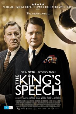 فیلم سخنرانی پادشاه با لهجه بریتیش برای یادگیری زبان